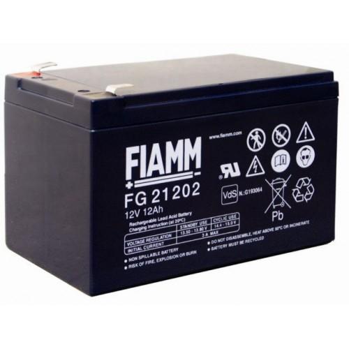 Аккумуляторная батарея для эхолота FIAMM FG 21202  на 12V 12Ah (151x98x94mm)