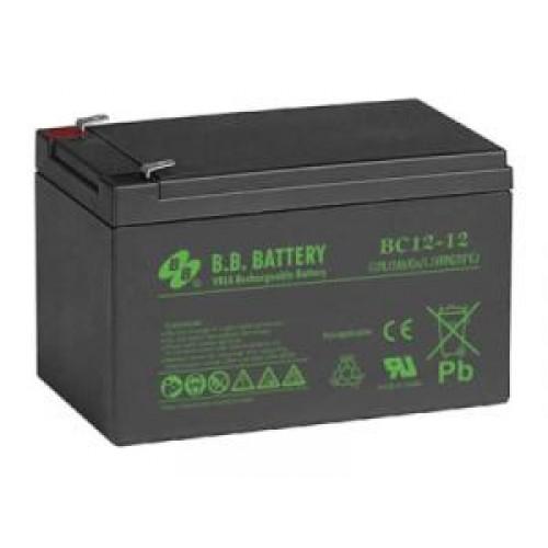 Аккумуляторная батарея для эхолота B.B.Battery BC 12-12 на 12V 12Ah (151x98x98mm)