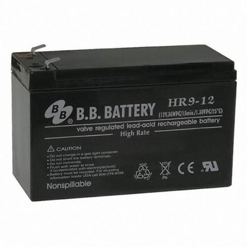 Аккумуляторная батарея для эхолота B.B.Battery HR 9-12  на 12V 9Ah (151x65x100mm)