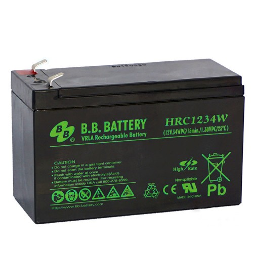 Аккумуляторная батарея для эхолота В.В.Battery HRС 1234W 12V 9Ah (151x65x100mm)