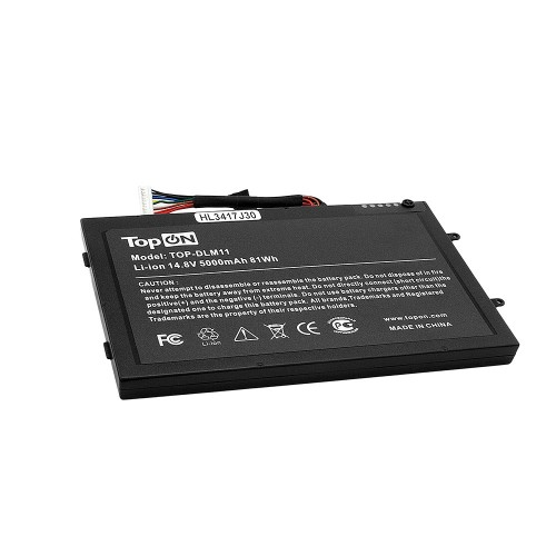Аккумулятор для ноутбука Dell Alienware M11X, M14x. 14.8V 4400mAh. PN: PT6V8, T7YJR