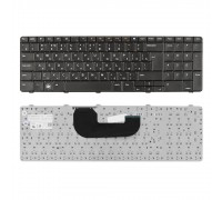 Клавиатура для ноутбука Dell Inspiron N7010, 17R Series. Г-образный Enter. Черная, без рамки. PN: AEUM9K00020.