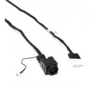 Разъем питания PJ416 для ноутбука Sony Vaio VPC-EL, SVE151 Series. 6.5x4.4 mm с иглой. C кабелем 17 см. PN: 50.4MQ04.002, 50.4MQ04.101.