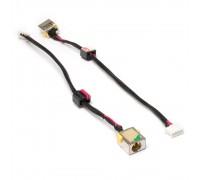 Разъем питания PJ338 для ноутбука Acer Aspire 5250, 5750, E1-531, V3-551 Series. 5.5x1.7 mm. С кабелем 15 см. PN: 50.AT902.101, DC301003R00.