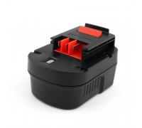 Аккумулятор для Black & Decker 12V 2.1Ah (Ni-Mh) BDG, BDGL, CD, HP, KC, PS, SX, XTC, Firestorm Series. PN: A12, A12E, A12EX, A12-XJ.