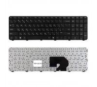 Клавиатура для ноутбука HP Pavilion DV7-6000, DV7-6100 Series. Плоский  Enter. Черная, с черной рамкой. PN: 2B-03916W600.