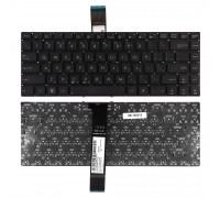 Клавиатура для ноутбука Asus G46V Series. Плоский Enter. Черная, без рамки. PN: 0KNB0-4120FS00