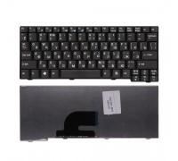 Клавиатура для ноутбука Acer Aspire One 531, A110, A150, D150, ZG5 Series. Плоский Enter. Черная без рамки. PN: 9J.N9482.00R.