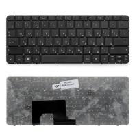 Клавиатура для ноутбука HP Mini 1103, 110-3000, 110-3500, 110-3600 Series. Плоский Enter. Черная, Без рамки. PN: NM1, NM3, SN5103.