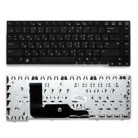 Клавиатура для ноутбука HP Probook 6455b, 6440b, 6445b, 6450b Series. Плоский Enter. Черная без рамки. PN: V103126BS1, 6037B0050122.