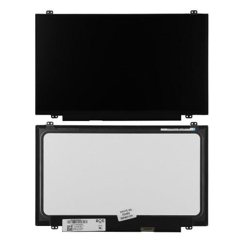 Матрица для ноутбука 14 1920x1080 FHD, 30 pin eDP, Slim, LED, ADS, крепления сверху/снизу (уши), матовая. PN: NV140FHM N46.