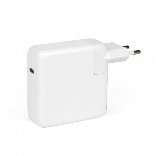Универсальный блок питания 61W c портом USB-C, Power Delivery, Quick Charge 3.0. В розетку, белый