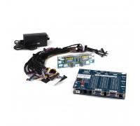 Полнофункциональный тестер для диагностики матриц и LCD-панелей, 2 VGA, 14 переходников, инвертор, блок питания