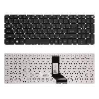 Клавиатура для ноутбука Acer V3-574G, E5-573 Series. Плоский Enter. Черная, без рамки. PN: NK.I1513.006, AEZRT700010, NK.I1517.00K.