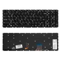 Клавиатура для ноутбука Lenovo Y50-70, Y50-80, Y70-70 Series. Плоский Enter. Черная с подсветкой. Без рамки. PN: 25215982