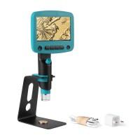 Цифровой микроскоп с увеличением 800X экран 4.3, подсветка, запись фото и видео, слот под MicroSD, подключение к ПК, аккумулятор 4000mAh. Камера 5MP
