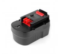 Аккумулятор для Black & Decker 14.4V 3.3Ah (Ni-Mh) PN: A14F.