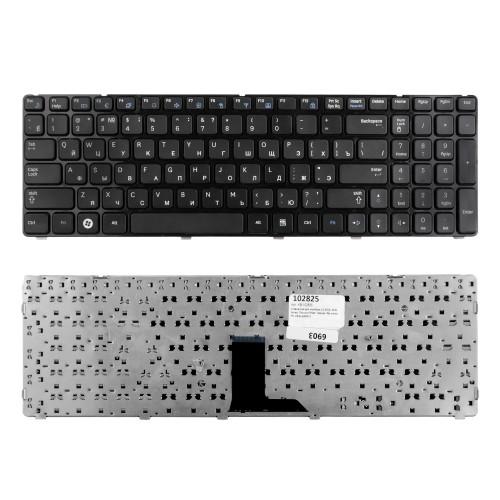 Клавиатура для ноутбука LG A510, A520 Series. Плоский Enter. Черная, без рамки. PN: AEQL9U00010