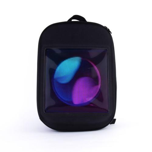 Рюкзак с LED-экраном, влагозащита, объем 20л