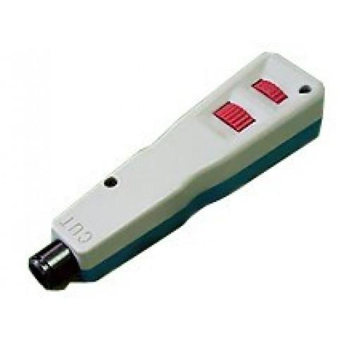 Ударный инструмент для разделки контактов, без лезвия (лезвия: LAN-BLD-110, LAN-BLD-LSA/S, LAN-BLD-6