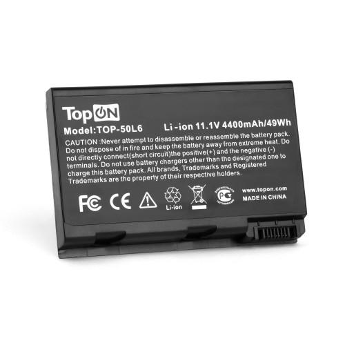 Аккумулятор для ноутбука Acer Aspire 3690, 5110, 5680, TravelMate 3900, 4200 Series. 11.1V 4400mAh PN: BATCL50L8, BT.00803.005