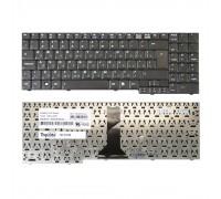 Клавиатура для ноутбука Asus M51, F7, PRO57A, X56 Series. Г-образный Enter. Черная, без рамки. PN: NSK-U400R, 9J.N0B82.00R.