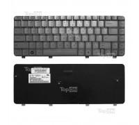 Клавиатура для ноутбука HP Pavilion DV4-1000, DV4-1100, DV4-1200 Series. Плоский Enter. Серебристая, без рамки. PN: 9J.N8682.901, MP-05583US66.