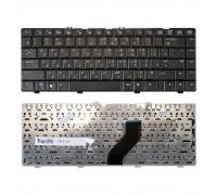 Клавиатура для ноутбука HP Pavilion DV6000, DV6100, DV6300, Compaq Presario V6000 Series. Плоский Enter. Черная, без рамки. PN: AT8A, AEAT8TP731.