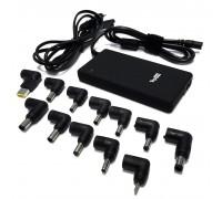 Универсальный ультратонкий блок питания на 90W для ноутбуков и нетбуков. Встроенный USB-порт на 2.1А. В комплекте 12 сменных коннекторов.