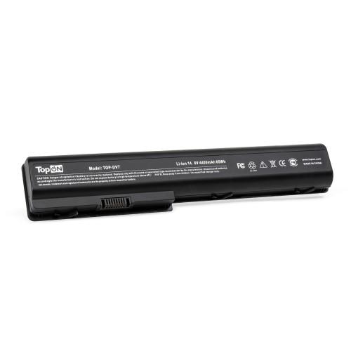 Аккумулятор для ноутбука HP HDX18, X18, Pavilion dv7, dv8 Series. 14.4V 4400mAh 63Wh. PN: HSTNN-IB75, HSTNN-XB75.
