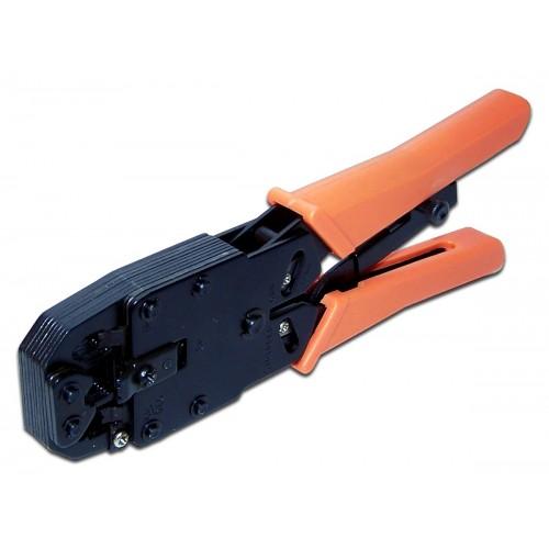 Обжимной инструмент 4P,6P,8P, Ratchet, тип HT-2008R с храповым механизмом