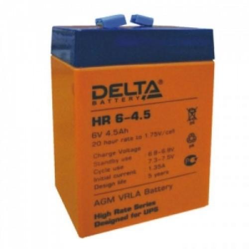 Аккумуляторная батарея Delta HR 6-4,5