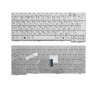 Клавиатура для ноутбука Acer Aspire One 531, A110, A150, D150, D210, ZG5 Series. Г-образный Enter. Белая, без рамки. PN: 9J.N9482.00R, KB.INT00.513.
