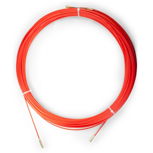 Устройство для протяжки кабеля мини УЗК в бухте, 40 м, диаметр прутка 3,5 мм