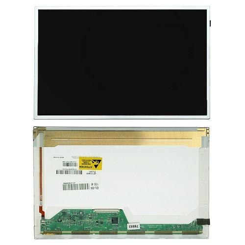 Матрица для ноутбука 12.1 1280x800 WXGA, 40 pin LVDS, Normal, LED, TN, без крепления, глянцевая. PN: LTN121AT06.