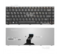 Клавиатура для ноутбука Lenovo IdeaPad B450, B450A, B450L Series. Плоский Enter. Черная, без рамки. PN: 25009181, NSK-U1X0R.