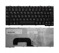 Клавиатура для ноутбука Lenovo IdeaPad S12 Series. Г-образный Enter. Черная, без рамки. PN: 25008399, MP-08K13SU-6861.