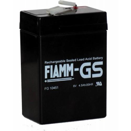 Аккумуляторная батарея FG 10451 (6V 4.5Ah)