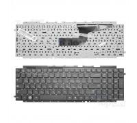 Клавиатура для ноутбука Samsung RC710, RC711, RC720 Series. Плоский Enter. Черная, без рамки. PN: BA59-02921C.