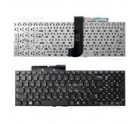 Клавиатура для ноутбука Samsung QX530, RC530 Series. Плоский Enter. Черная, без рамки. PN: BA59-02795D.
