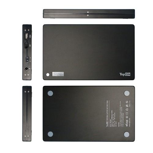 Внешний аккумулятор TopON TOP-MAX 33600mAh (125Wh) для зарядки ноутбука, планшета и смартфона