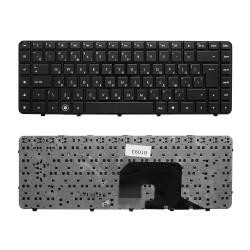 Клавиатура для ноутбука HP Pavilion DV6-3000, DV6-3100 Series. Г-образный Enter. Черная, с черной рамкой. PN: AELX8700310.