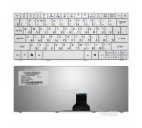 Клавиатура для ноутбука Acer Aspire 1410, 1425, 1810, 1830 Aspire One 721, 722, 751 Series. Плоский Enter. Белая, без рамки. PN: NSK-AQ10R.