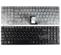Клавиатура для ноутбука Sony Vaio VPC-CB, VPC-CB17, VPCCB17 Series. Плоский Enter. Черная, без рамки. PN: 148954821, 9Z.N6CBF.00R.