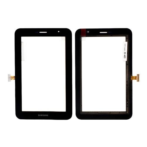 Сенсорное стекло, тачскрин для планшета Samsung Galaxy Tab GT-P6200, GT-P6210 Plus, 7.0 1024x600. Черный.
