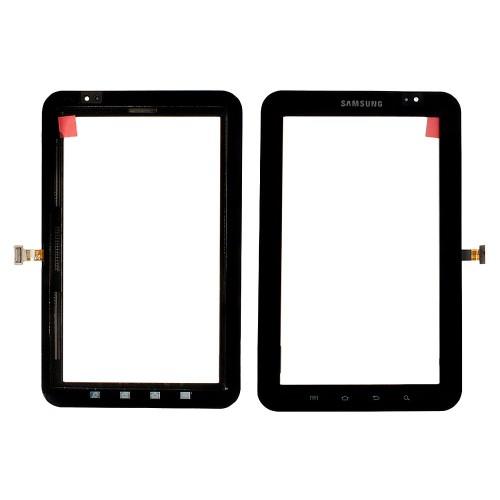 Сенсорное стекло, тачскрин для планшета Samsung Galaxy Tab GT-P1000, GT-P1010, 7.0 1024x600. Черный.