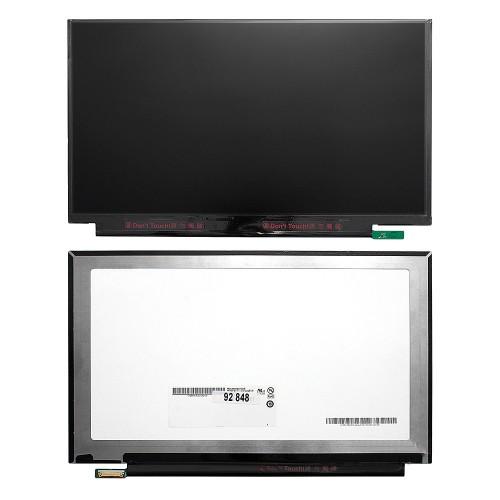 Матрица для ноутбука 13.3 1920x1080 FHD, 30 pin eDP, Slim, LED, IPS, без крепления, матовая. PN: B133HAN03.0.