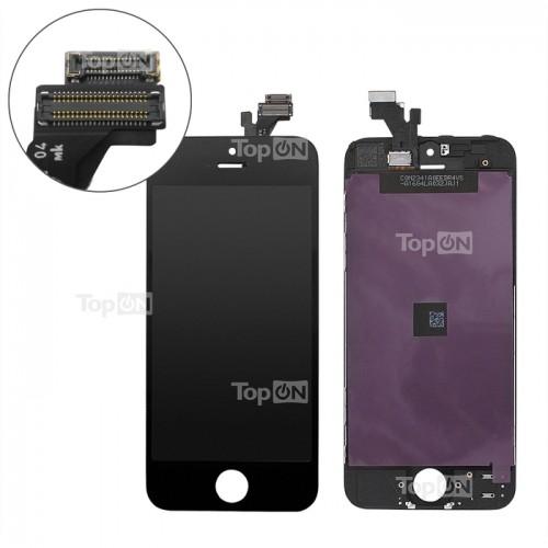 Матрица и тачскрин (сенсорное стекло) для смартфона Apple iPhone 5, 4