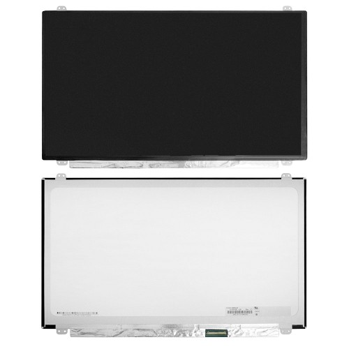 Матрица для ноутбука 15.6 1920x1080 FHD, 40 pin Slim LED, крепления сверху/снизу (уши). Глянцевая. PN: B156HW03