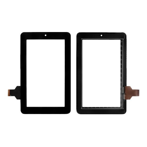 Сенсорное стекло, тачскрин для планшета teXet TM-7024, Onda V702, Explay Surfer, 7 800x480. PN: GG706S HLD-PG708S. Черный.